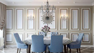 Hỏi xin mẫu thiết kế nội thất biệt thự cổ điển giá rẻ?