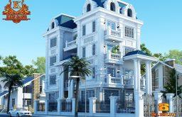 Thiết kế biệt thự tân cổ điển 5 tầng tại Hà Nội