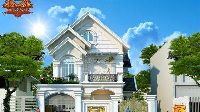 Thiết kế biệt thự tân cổ điển 2 tầng tại Hà Nội