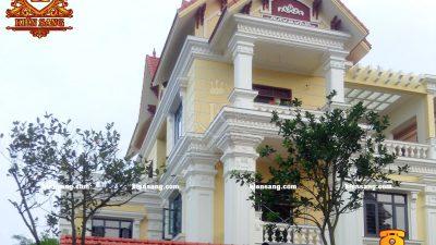 Mẫu thiết kế biệt thự tân cổ điển đẹp tại Hà Nội